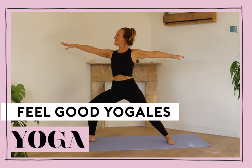 Flair TV: start je dag energiek met deze Feel Good Flow yogavideo van Crissy
