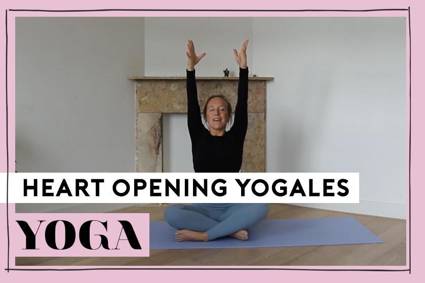 Flair TV: je hoofd leegmaken en terug naar je gevoel? Doe mee met Crissy's heart opening flow yogales