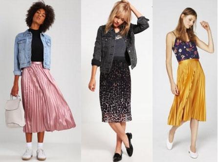 Shoppen: De plissérok wordt je nieuwe favoriete kledingstuk!