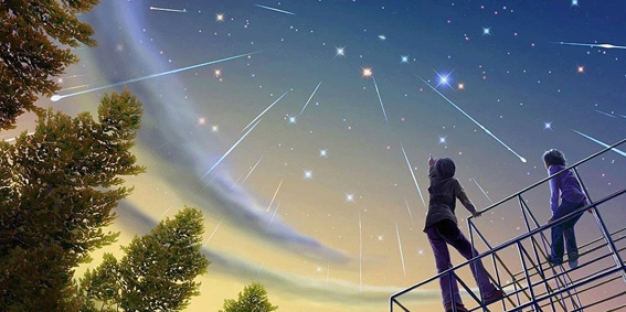 WOW: Deze nacht kun je honderden vallende sterren zien!