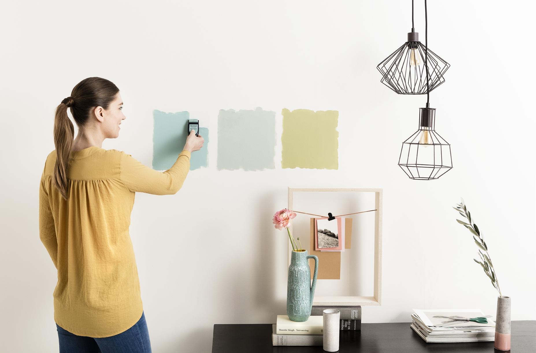 Leuk nieuw kleurtje op de muur?