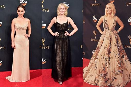 Emmy Awards 2016: Dit waren de 10 mooiste jurken op de rode loper