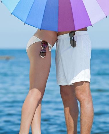 Deze bikini laat weten wanneer je weer moet smeren!