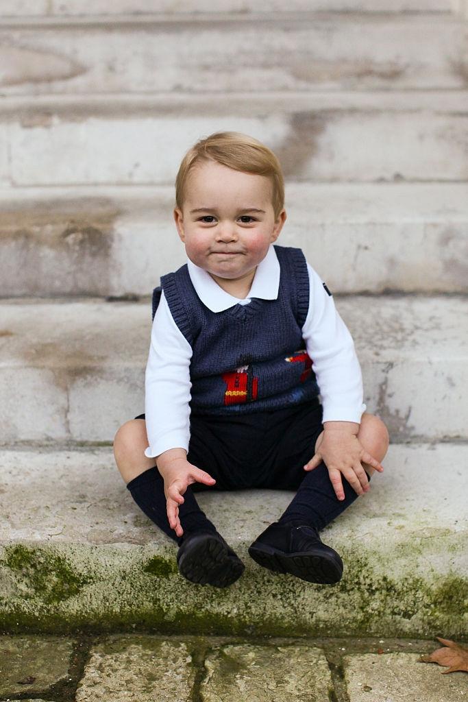 Té schattig, prins George heeft een dubbelganger