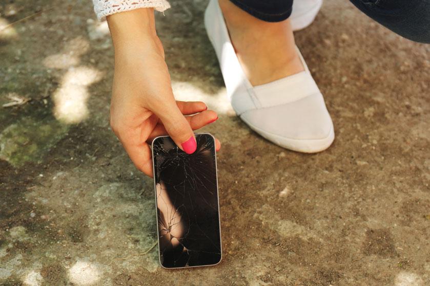 Een barst in je telefoonscherm? Fiks het met tandpasta