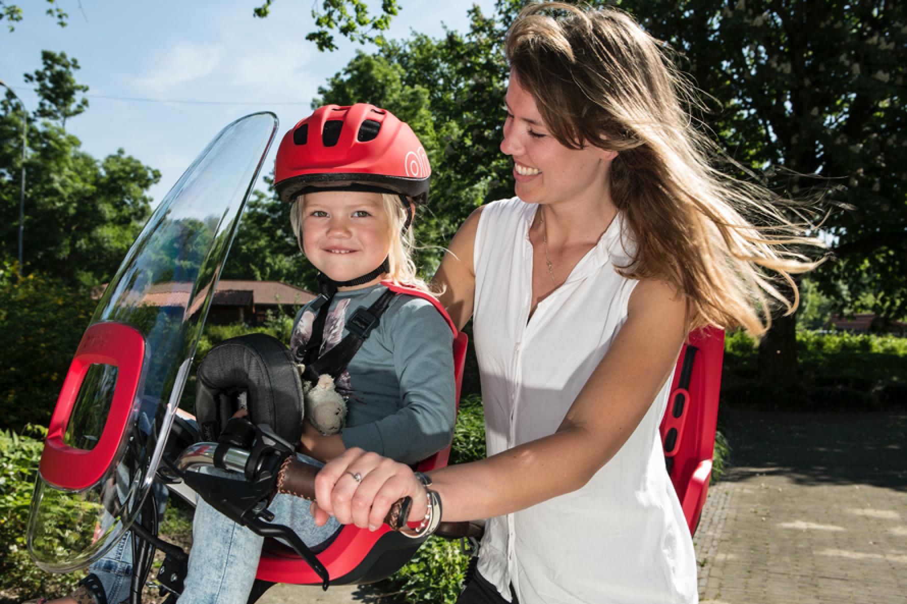 WINNEN: Een Bobike One kinderzitje voor veilig fietsplezier!