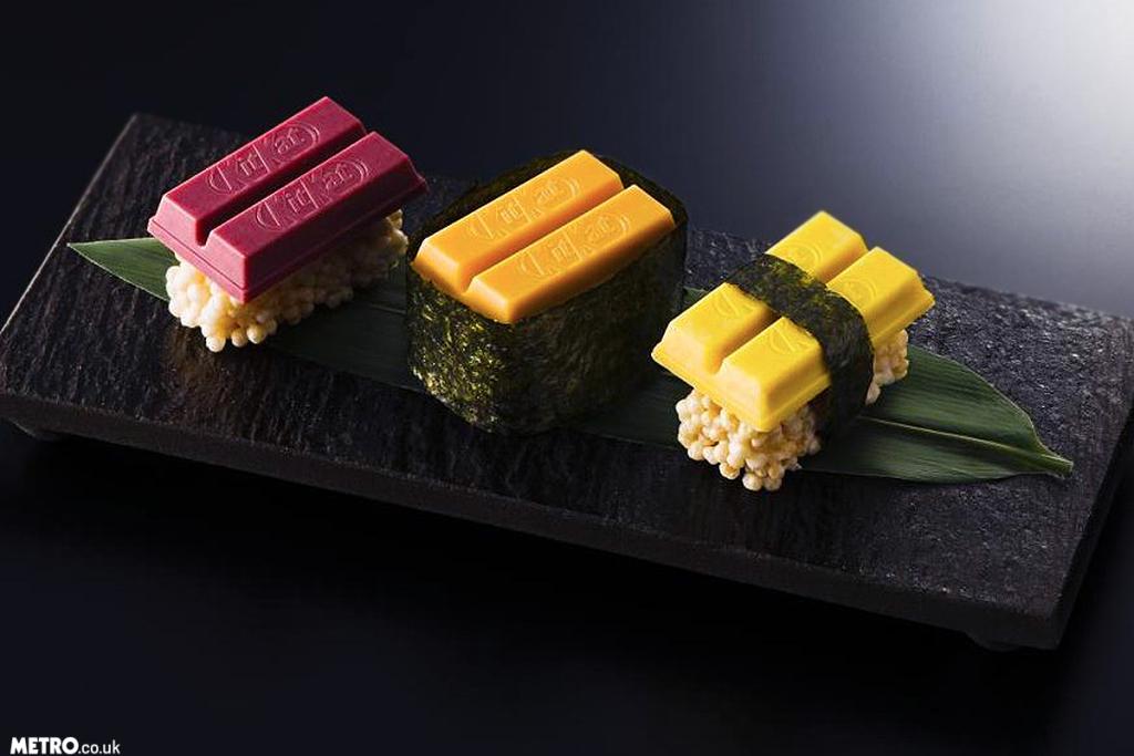 WAT: KitKat komt met een limited edition sushi-repen