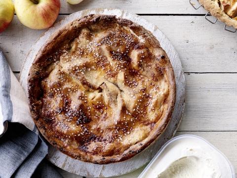 Recept: gesloten appelvlaai