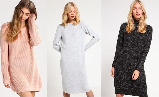 Shoppen: de sweaterjurk is een echte musthave deze winter