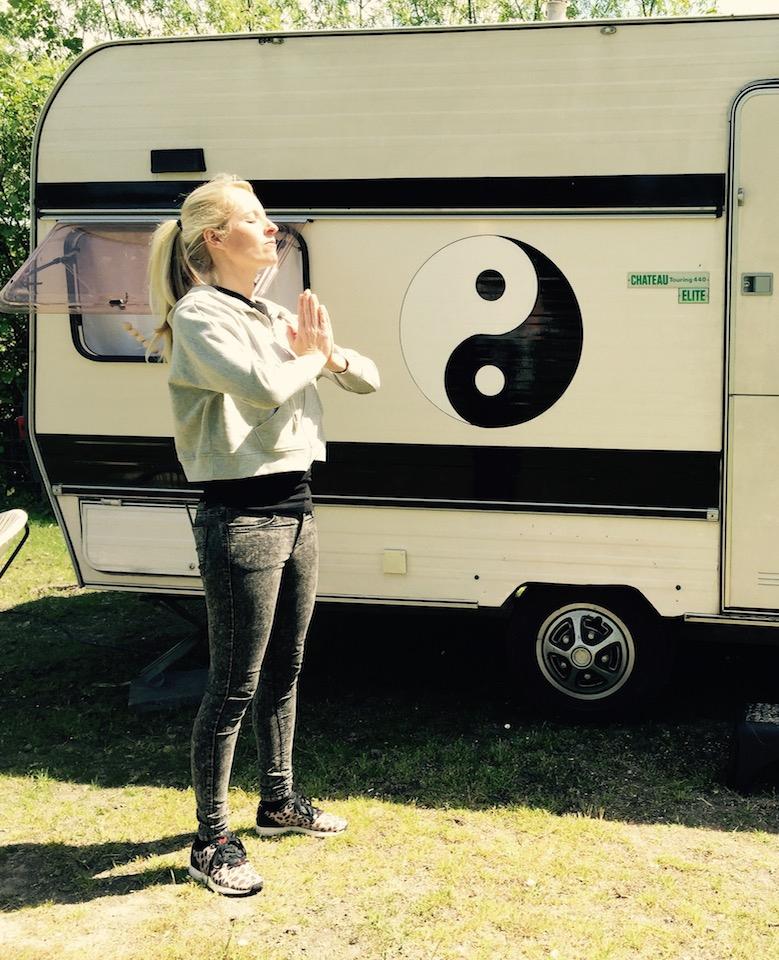 Linda blogt: Op de allereerste yogacamping van Nederland