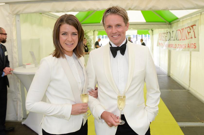 Merel Westrik en partner Patrick Maes