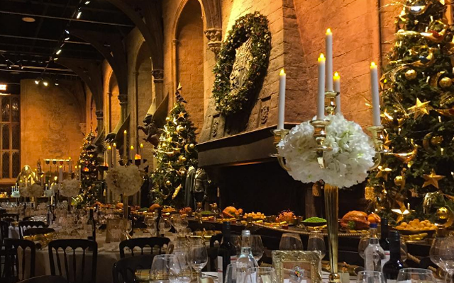YESSS: je kan dit jaar opnieuw kerstmis vieren in de 'Great Hall' van Zweinstein