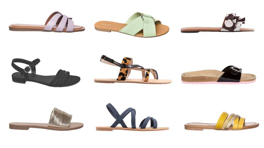 Sandalen onder 15 euro producten