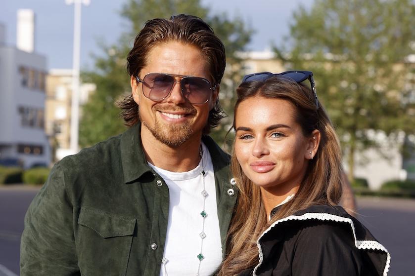 Happy family: André Hazes en Sarah zetten nieuwe stap in relatie