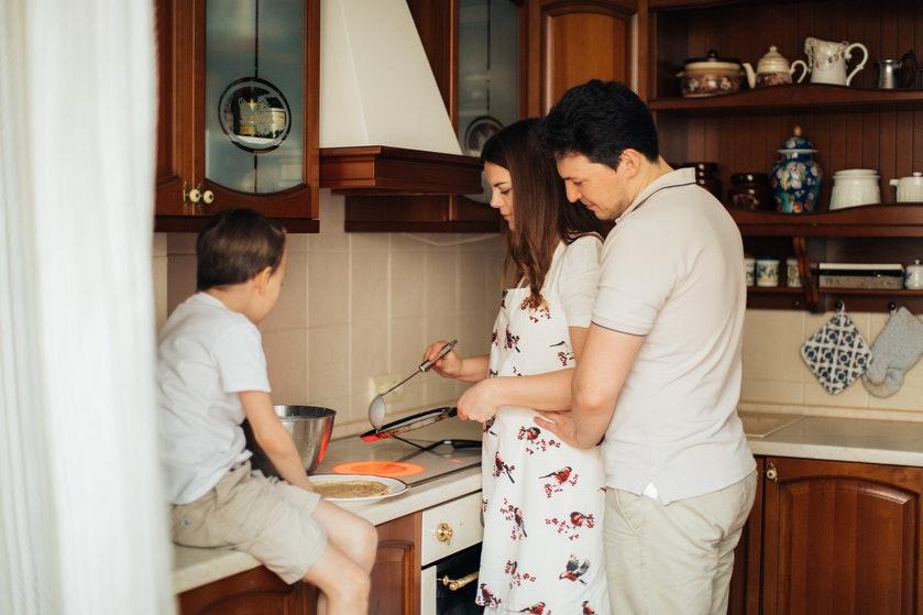Hap Slik Zeg: 'De kinderen (14, 11 en 10) koken nu alle drie één keer per week'