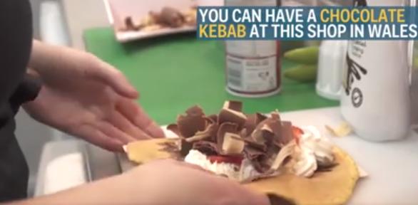 Video: Chocolade kebab bestaat en het is het beste wat je ooit hebt gezien!