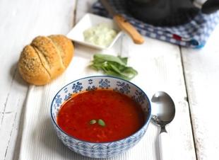 Snelle tomatensoep in 15 minuten