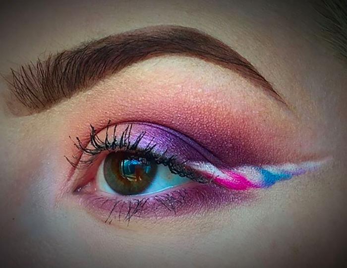 WOW: Unicorn Eyeliner is de nieuwste beautytrend die je moet uitproberen