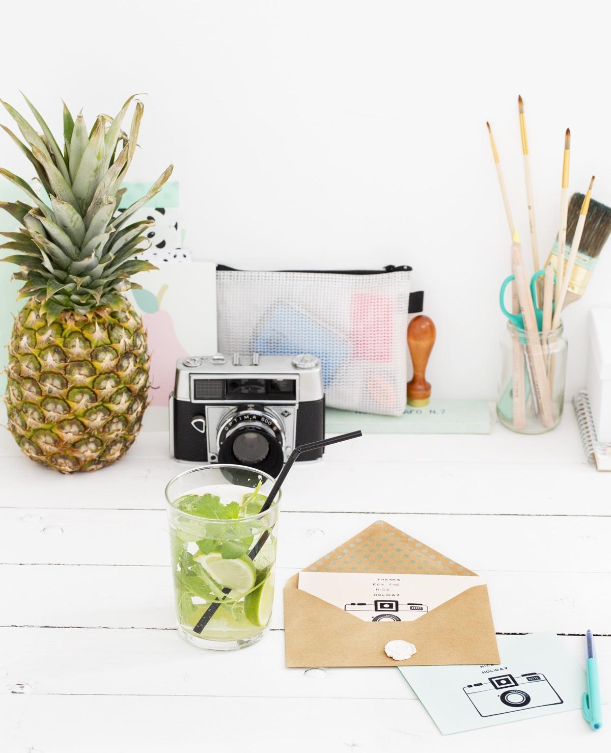 Zelfmaak – Vakantiekaartje maken