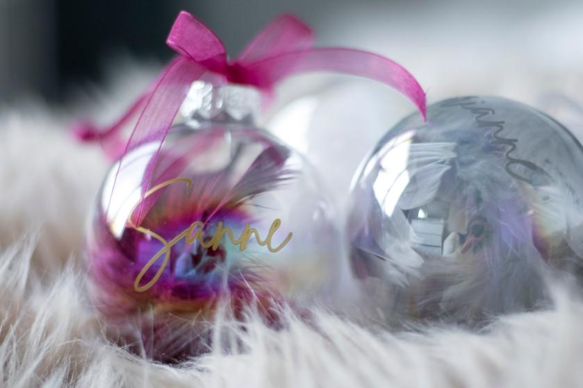 WIN: gepersonaliseerde kerstbal van The Wish Label