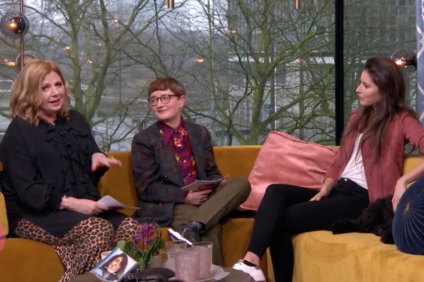 Ongemakkelijk: Loretta brengt Marco-affaire ter sprake in 'Koffietijd'-gesprek met Iris Hond