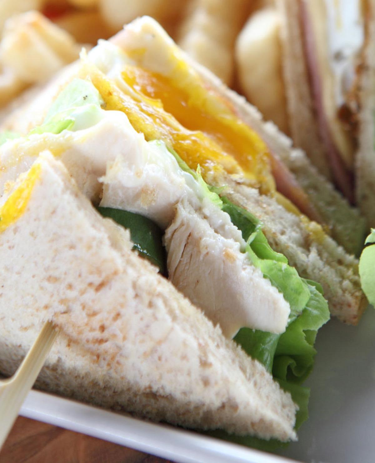 Recept Mieke: Clubsandwich thuis