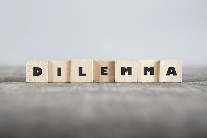 Dilemma: 'Man op de crèche?'