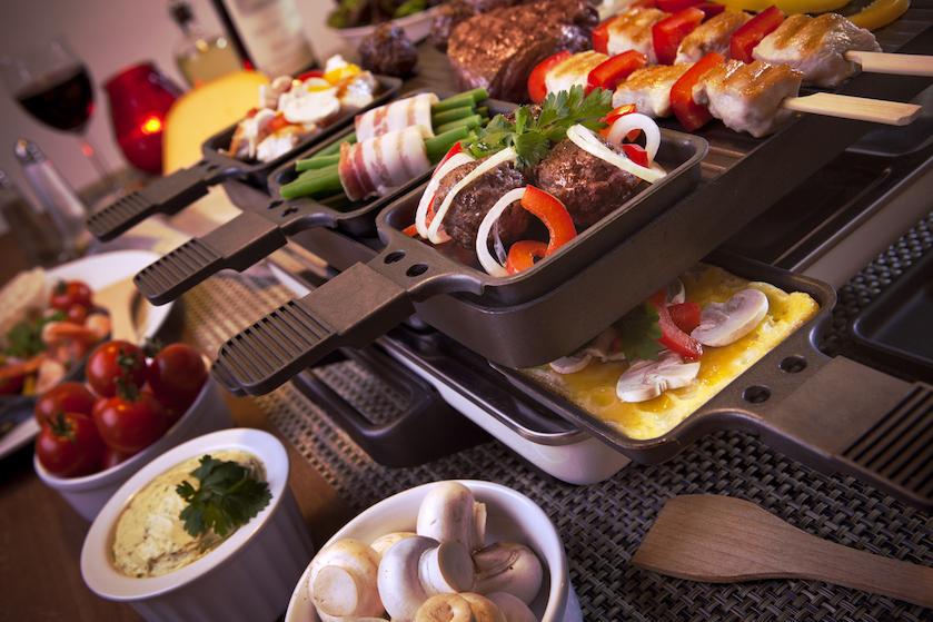Oeps: tijdens een avondje gourmetten schrok je zóveel calorieën naar binnen