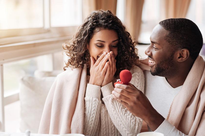 Op déze plekken willen vrouwen volgens onderzoek het liefst ten huwelijk worden gevraagd