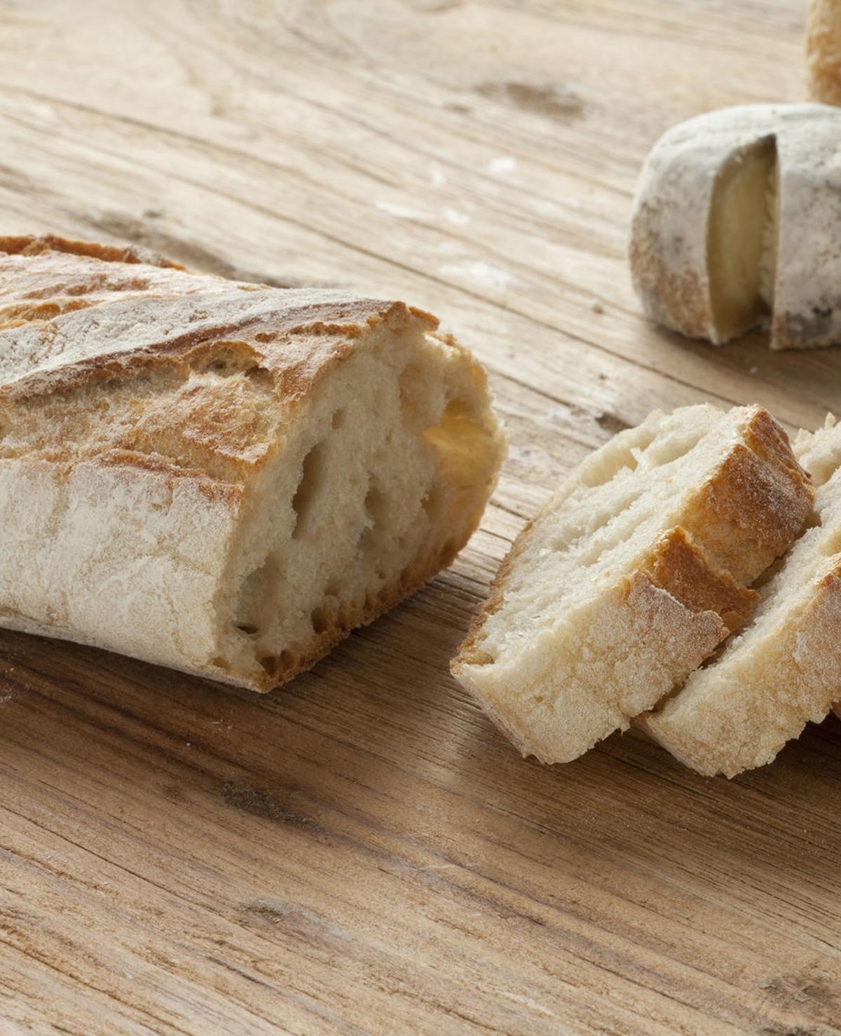 Schoonmaken met brood