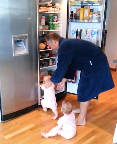 Zo kan papa nooit het ontbijt klaarmaken