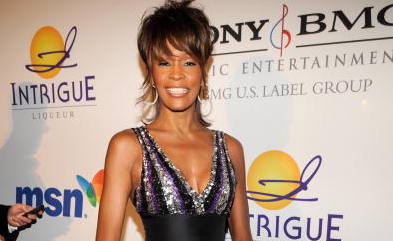 Inboedel Whitney Houston gaat onder de hamer