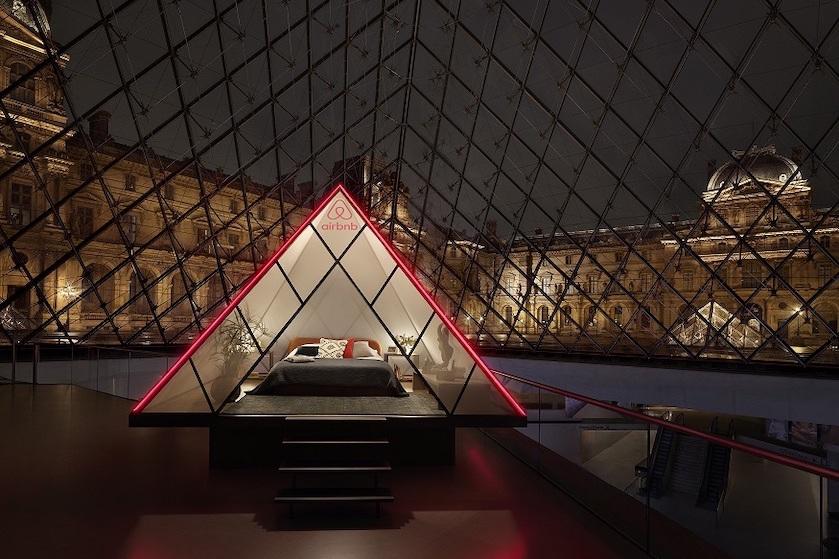 Altijd al in het Louvre willen overnachten? Dit is jouw kans