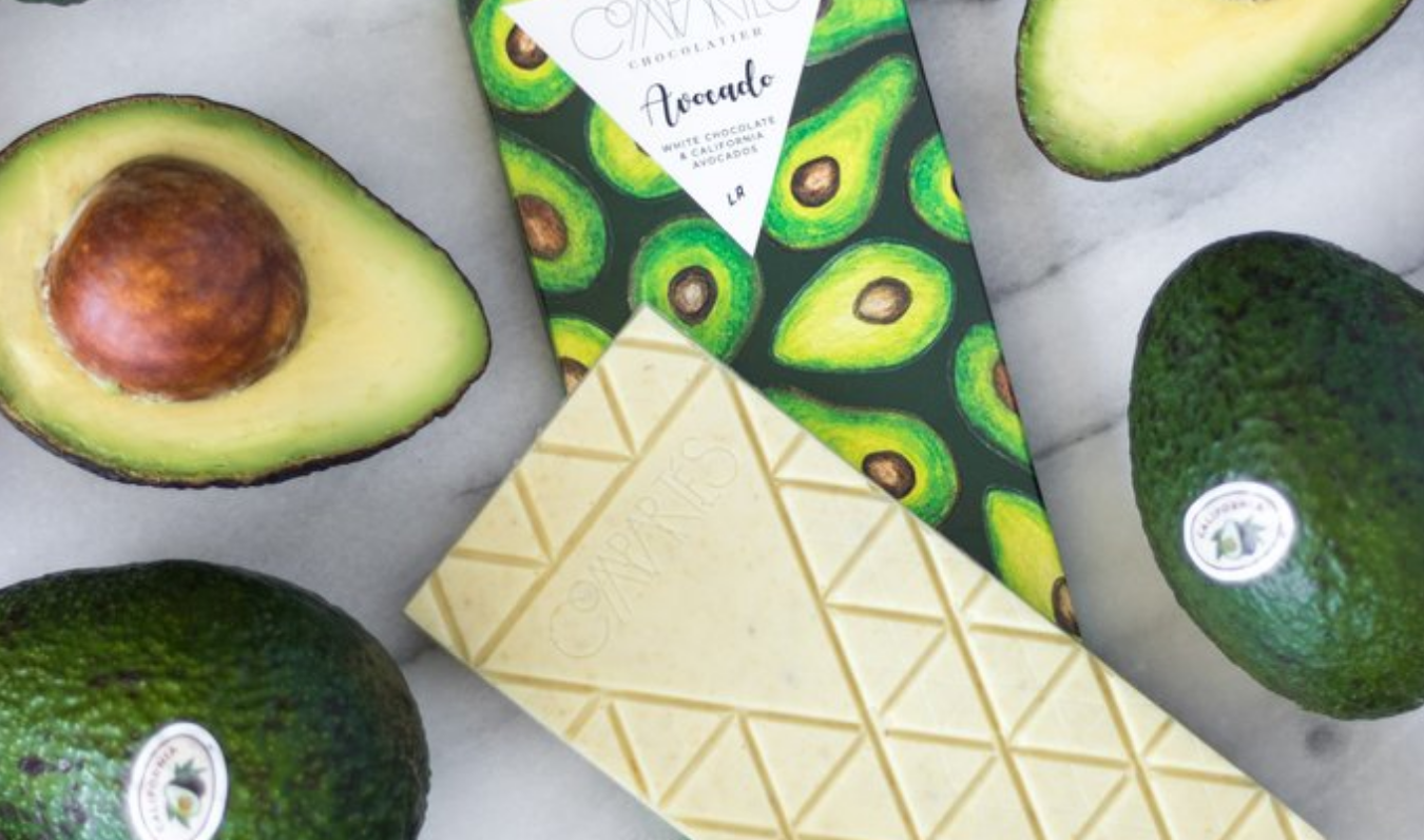 OMG: er is nu een ware avocado chocoladereep op de markt