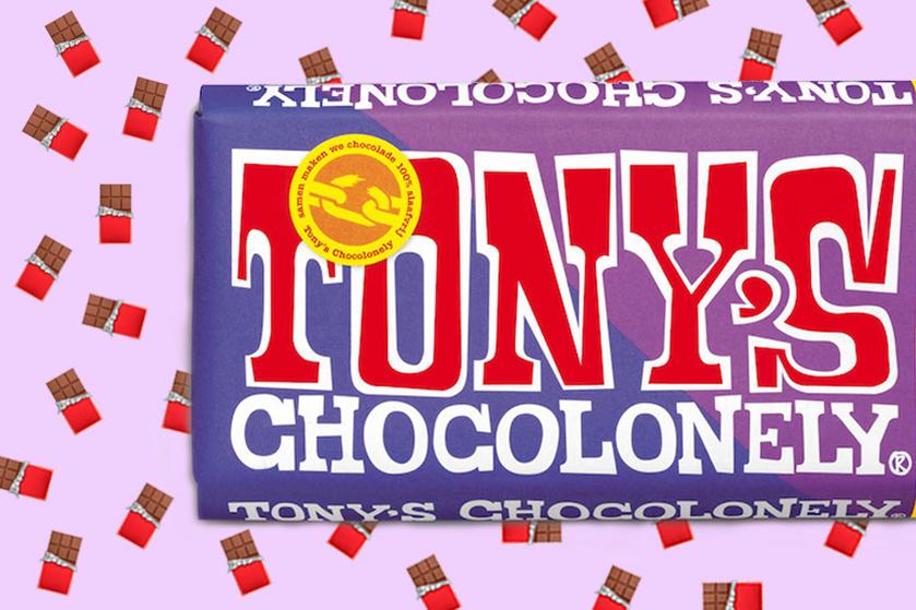 Sprintje naar de supermarkt: er ligt weer een nieuwe smaak van Tony's Chocolonely in de schappen (#kwijl)