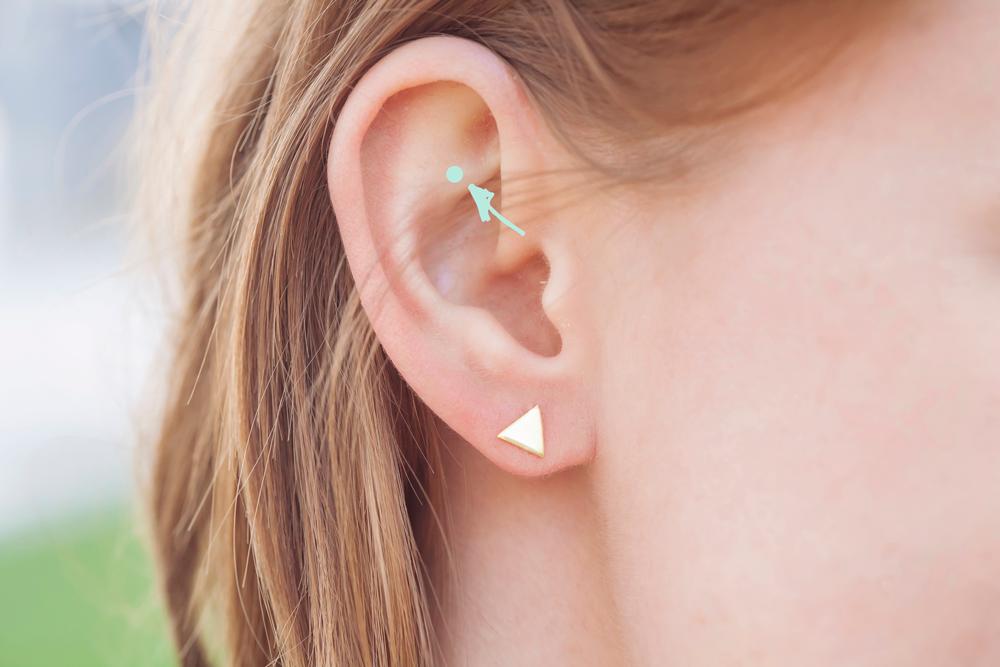 Kijk wat er gebeurt als je dít puntje van je oor masseert
