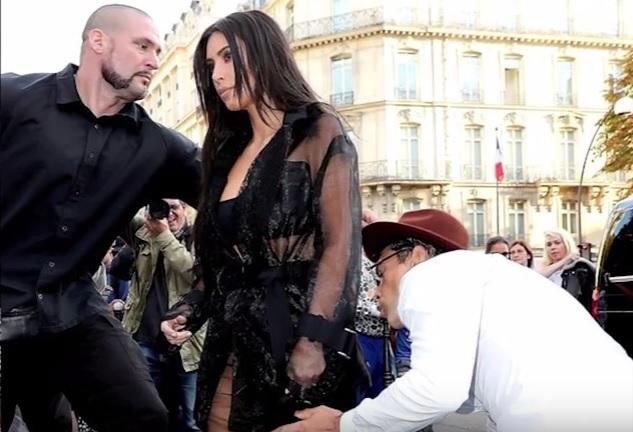 Wat?! Aanvaller Gigi Hadid probeert billen van Kim Kardashian te kussen