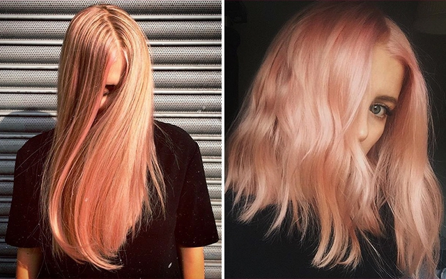 Blorange: de haarkleurtrend die we dit voorjaar maar al te graag proberen