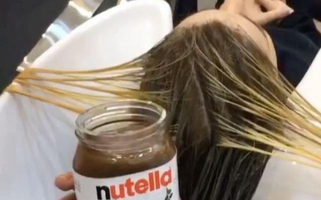 HUH: deze beautyblogger kleurt haar lokken met Nutella