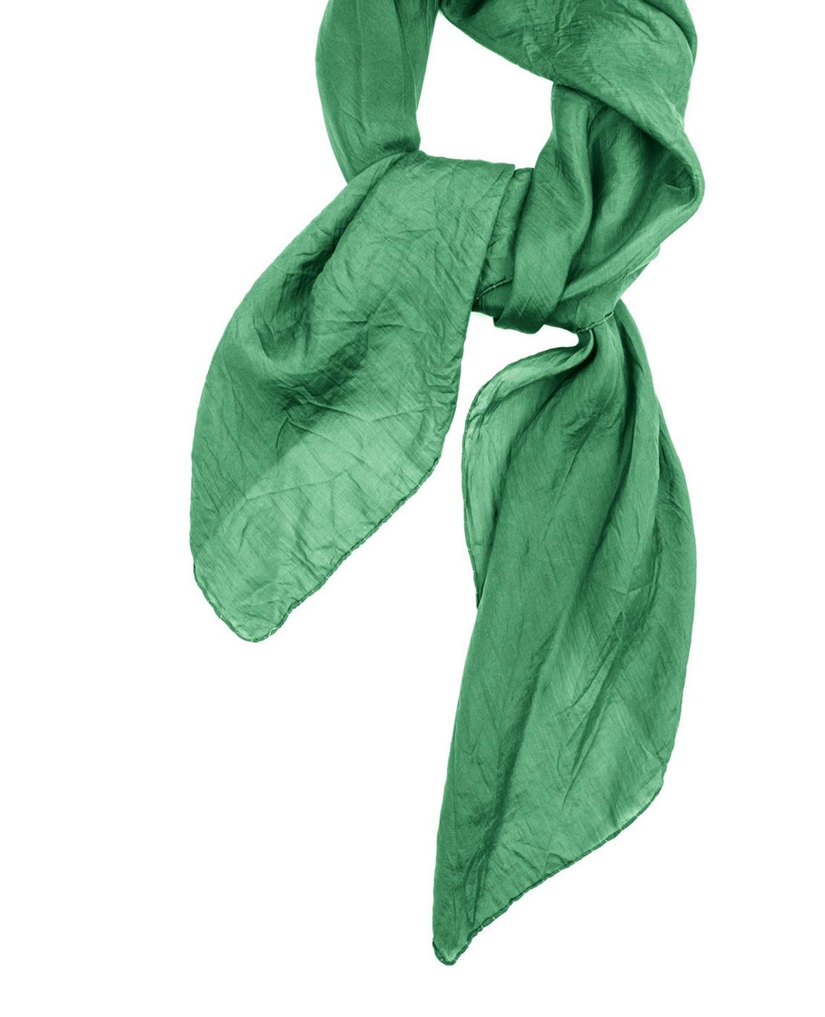 Een sjaal om je tas wikkelen