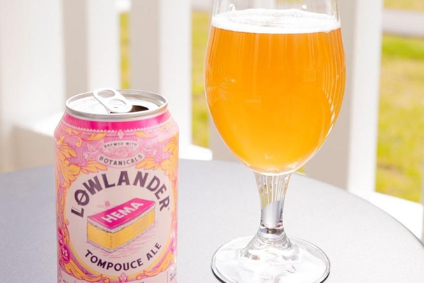 Hilarisch: tompouce bier van Hema blijkt géén grap en is vanaf nu te koop