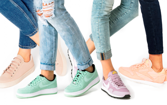 Shoppen: 15 x sneakers in pasteltinten