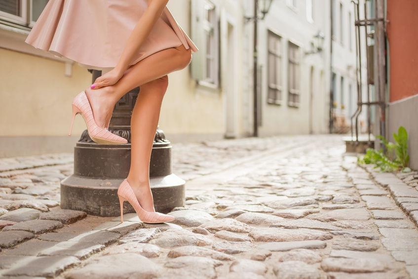 Op hakken lopen zonder pijn? Het kan!