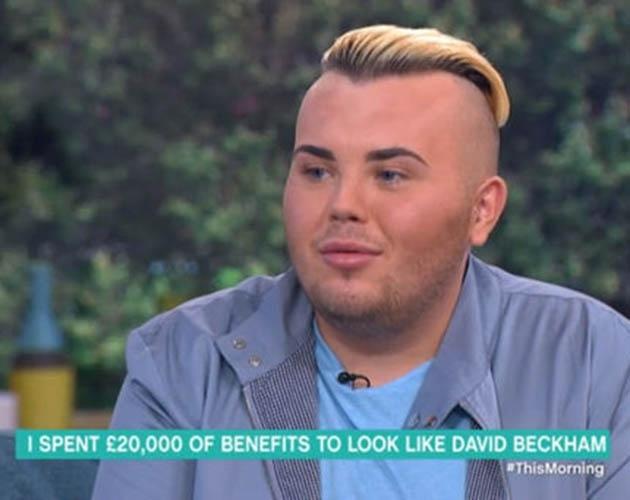 Deze tiener gaf al ruim €23.000 uit om meer op David Beckham te lijken