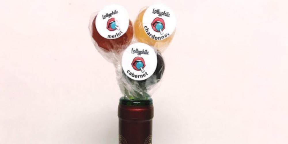Er zijn nu lolly's die naar je favo wijn smaken!