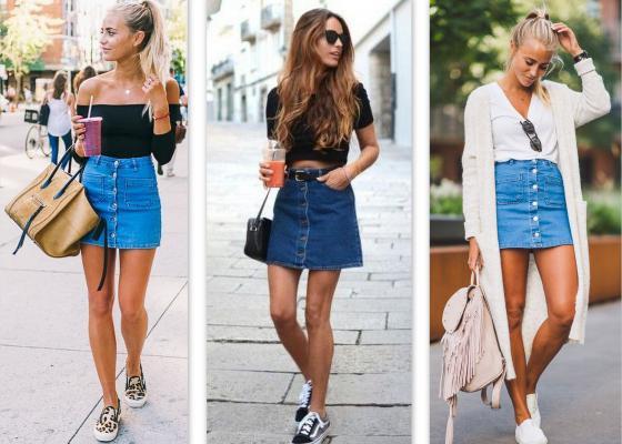 Shop de trend: de jeansrok maakt een comeback