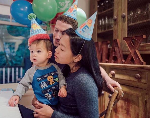 Mark Zuckerberg en vrouw verwachten tweede kindje