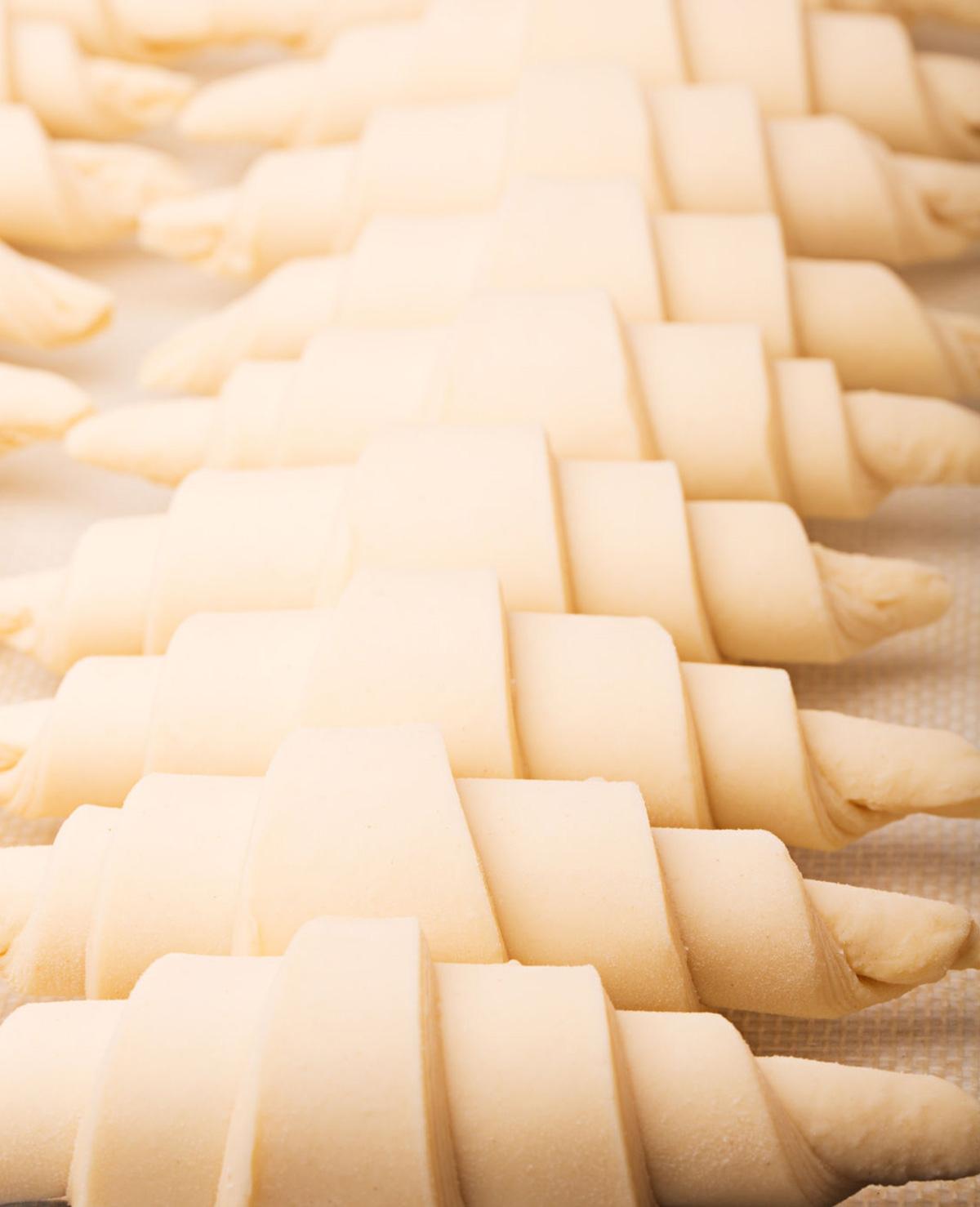 Croissants maken is heel eenvoudig