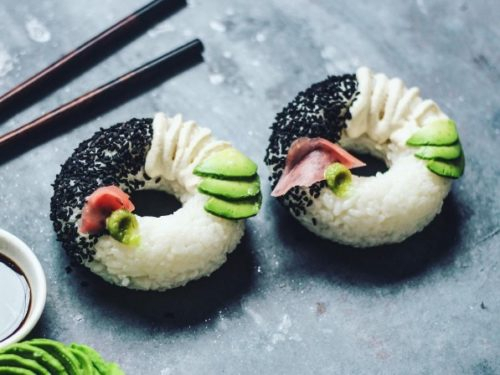 Yummy, de sushi donut is dé nieuwe food trend