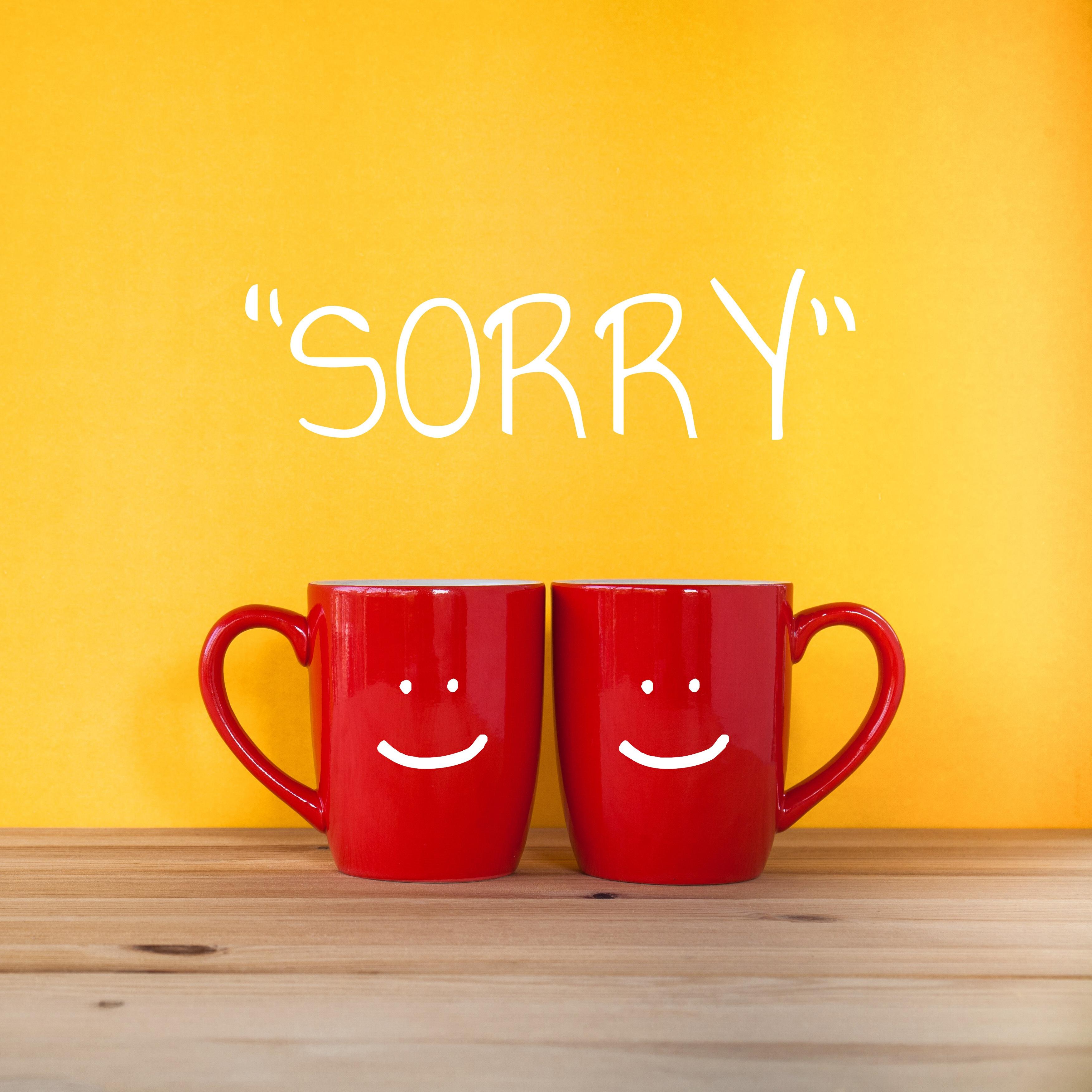In deze 4 situaties zeg je beter geen 'sorry'